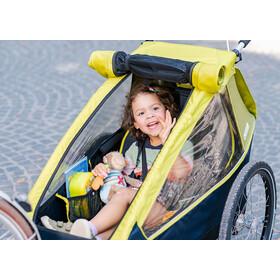 Croozer Kid For 1 Trailer para niños, lemon green